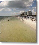 Clear Water Beach II Metal Print