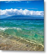 Clear Water Metal Print