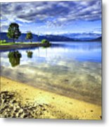 Clear Waters Metal Print
