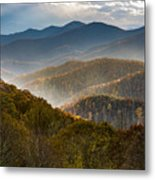 Clearing Storm At Webb Overlook Metal Print
