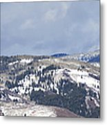 Clearing Storm On Rocky Peak And Hot Springs Metal Print