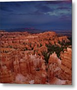 Clearing Storm Over The Hoodoos Bryce Canyon National Park Metal Print