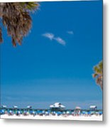 Clearwater Beach Metal Print