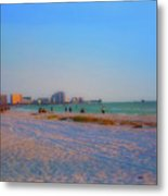 Clearwater Beach Florida Metal Print