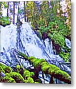 Clearwater Falls, Highway 138, Umpqua National Forest, Oregon Metal Print