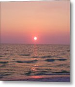 Clearwater Sunset Metal Print