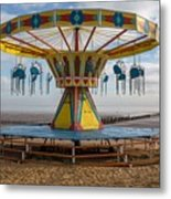 Cleethorpes Beach Metal Print