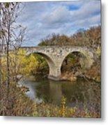 Clement Stone Arch Bridge Metal Print