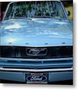 Clemson Tigers Ford Mustang Metal Print
