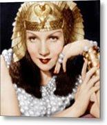 Cleopatra, Claudette Colbert, 1934 Metal Print by Everett