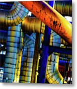 Cleveland Industry  Metal Print