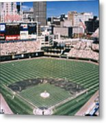 Cleveland: Jacobs Field Metal Print