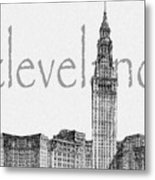 Cleveland Metal Print