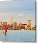 Cleveland On The Lake Metal Print