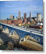 Cleveland Skyline #1 Metal Print