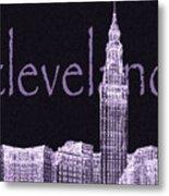 Cleveland's Landmark II Metal Print