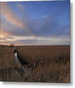 Cley Marshes  Metal Print