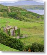 Clifden Castle Metal Print