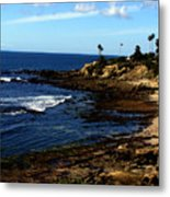 Cliff Drive Laguna Beach Metal Print