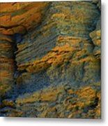 Cliffs In The City For The Swallows Metal Print