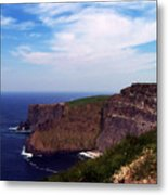 Cliffs of Moher Aill Na Searrach Ireland Metal Print