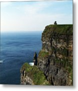 Cliffs of Moher Ireland Metal Print
