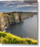 Cliffs Of Moher On The West Coast Of Ireland Metal Print