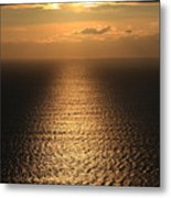 Cliffs Of Moher Sunset Co. Clare Ireland Metal Print