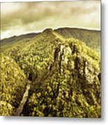 Cliffs, Steams And Valleys Metal Print
