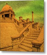 Clifton Monument At Jehangir Kothari Parade Metal Print