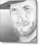 Clint Metal Print
