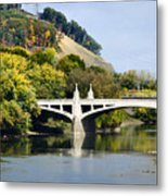 Clinton St. Bridge Prospect Mountain Binghamton Ny Metal Print