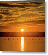 Clinton Sunset 1 Metal Print