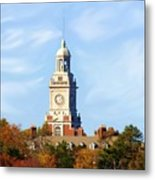 Clock Tower 2 Metal Print