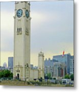 Clock Tower Montreal 1 Metal Print
