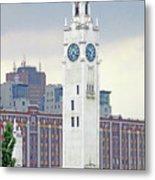 Clock Tower Montreal 2 Metal Print