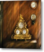 Clockmaker - Clocks Metal Print