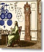 Clockmaker Metal Print
