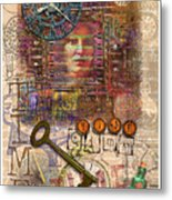 Clockworks Metal Print by Ernestine Grindal