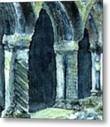 Cloisters Metal Print