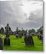 Clonmacnoise Monastery Metal Print