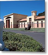 Clos Pegase Winery Napa Valley Metal Print by George Oze