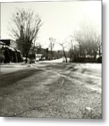 Close To Asphalt Metal Print