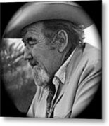 Close-up  Broderick Crawford Ted Degrazias Gallery In The Sun Tucson Arizona 1969-2008 Metal Print