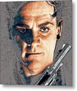 Close Up James Cagney As Gangster  Rocky Sullivan In Angels With Dirty Faces 1938-2008 Metal Print