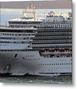 Close Up Of Diamond Princess Metal Print