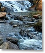 Close Up Of Reedy Falls In South Carolina II Metal Print
