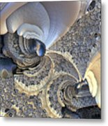 Close-up Texture Metal Print