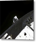 Close-up View Of The Nose Cone On Space Metal Print