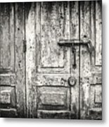 Closed Doors Metal Print